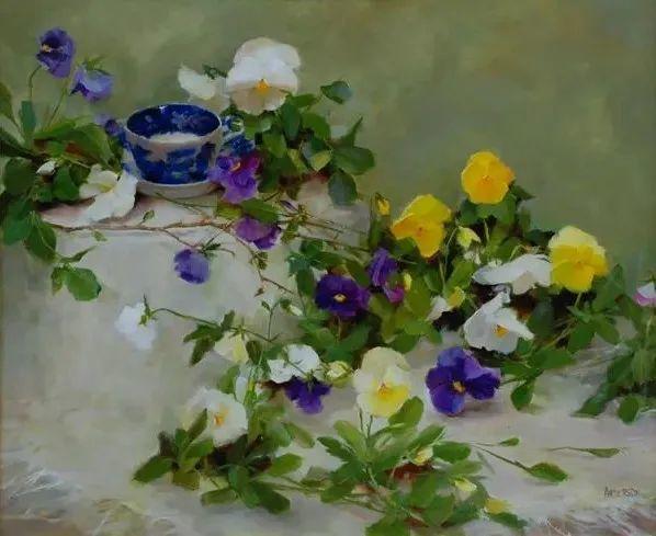 美美的花,美国女画家凯西·安德森插图4