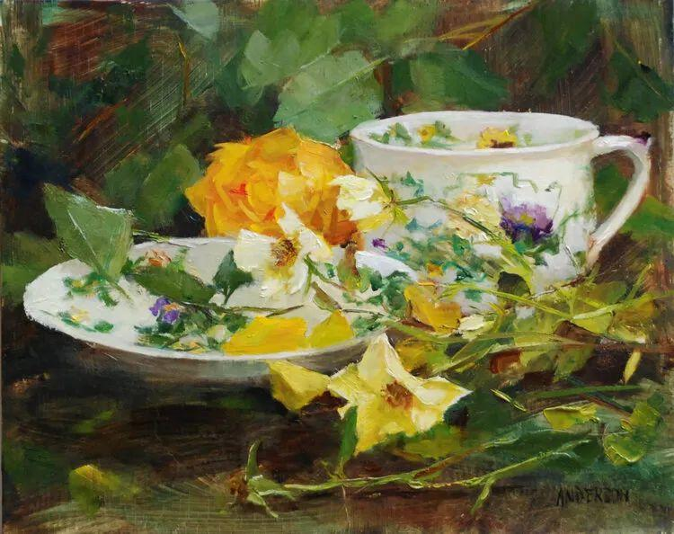 美美的花,美国女画家凯西·安德森插图5