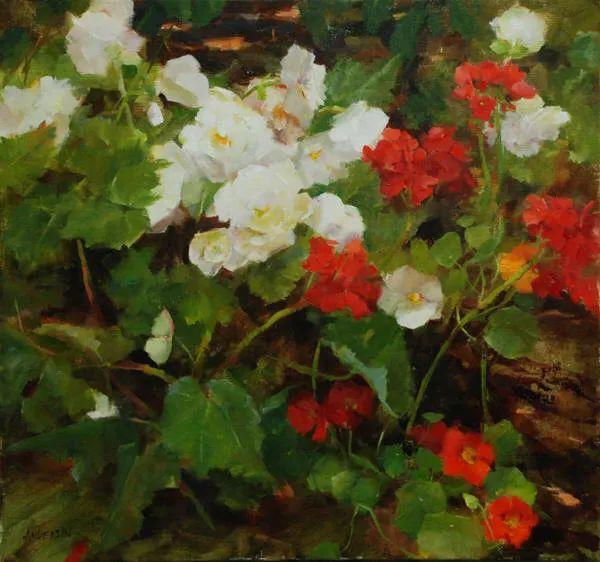 美美的花,美国女画家凯西·安德森插图7