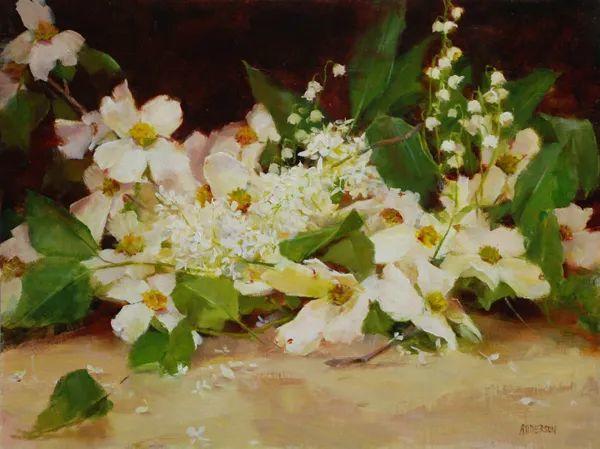 美美的花,美国女画家凯西·安德森插图19
