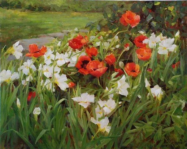美美的花,美国女画家凯西·安德森插图27