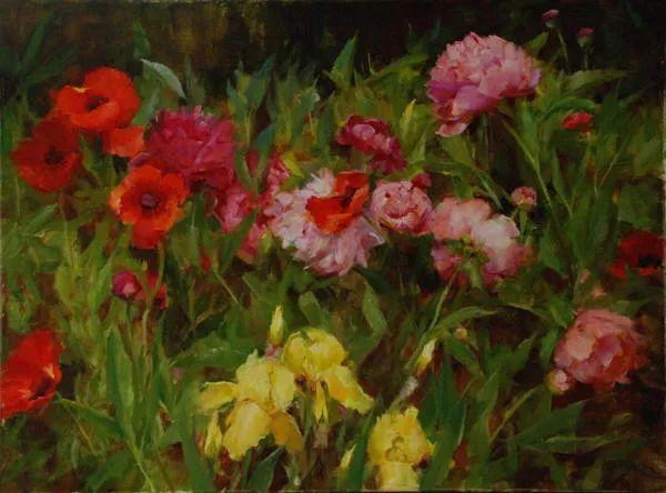 美美的花,美国女画家凯西·安德森插图30
