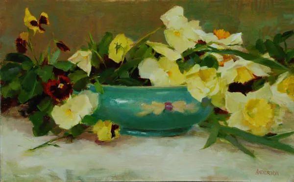 美美的花,美国女画家凯西·安德森插图32
