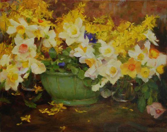 美美的花,美国女画家凯西·安德森插图34