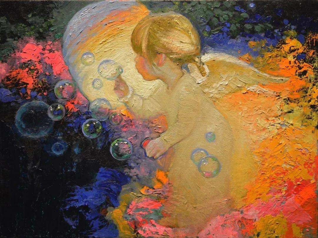 俄罗斯油画家的童话世界:愿你永远是个孩子!插图2