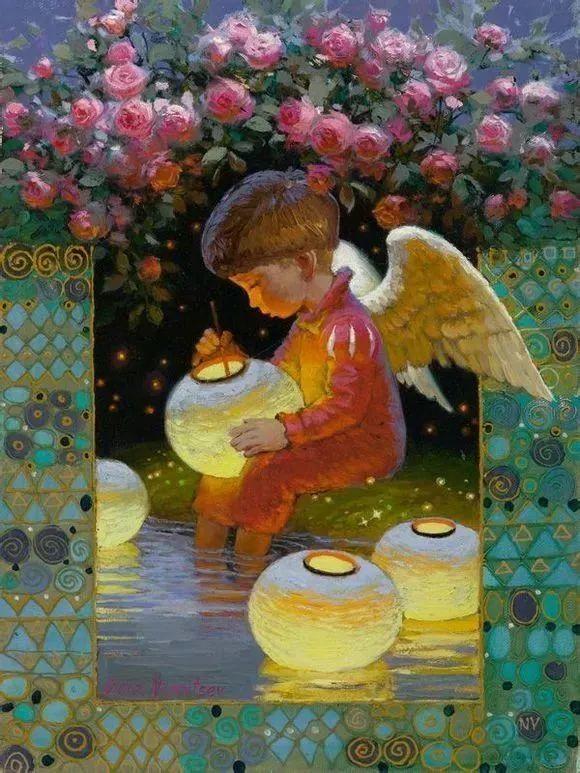 俄罗斯油画家的童话世界:愿你永远是个孩子!插图6