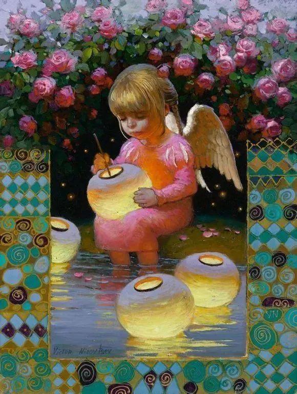 俄罗斯油画家的童话世界:愿你永远是个孩子!插图7