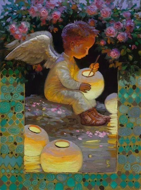俄罗斯油画家的童话世界:愿你永远是个孩子!插图8