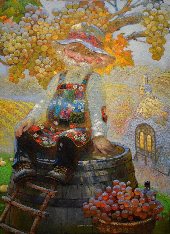 俄罗斯油画家的童话世界:愿你永远是个孩子!插图9