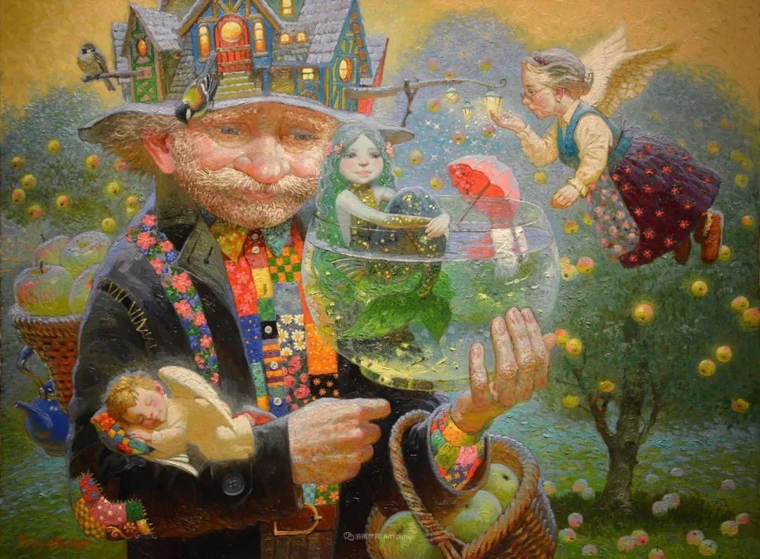 俄罗斯油画家的童话世界:愿你永远是个孩子!插图10