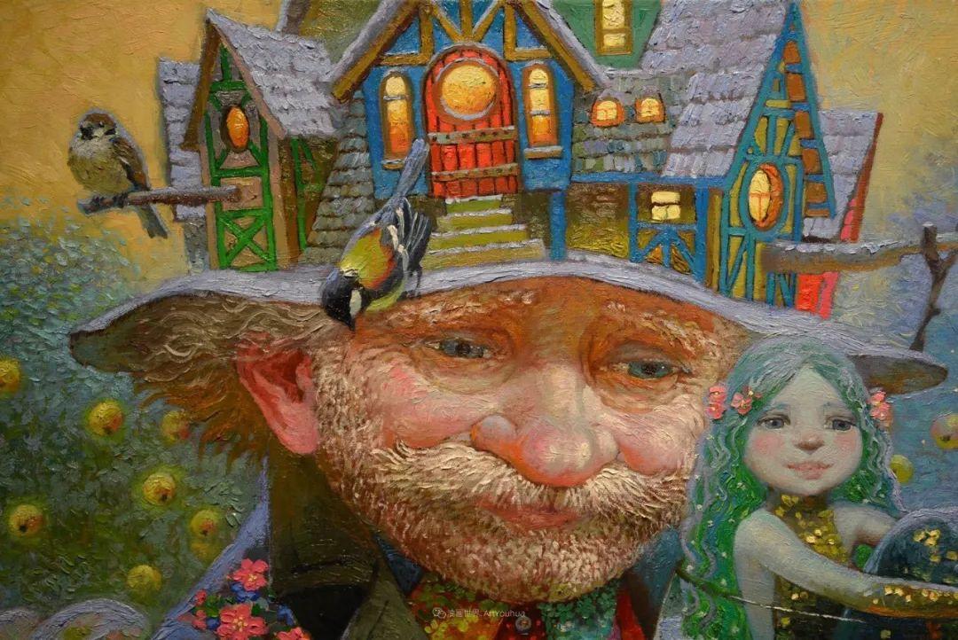 俄罗斯油画家的童话世界:愿你永远是个孩子!插图11