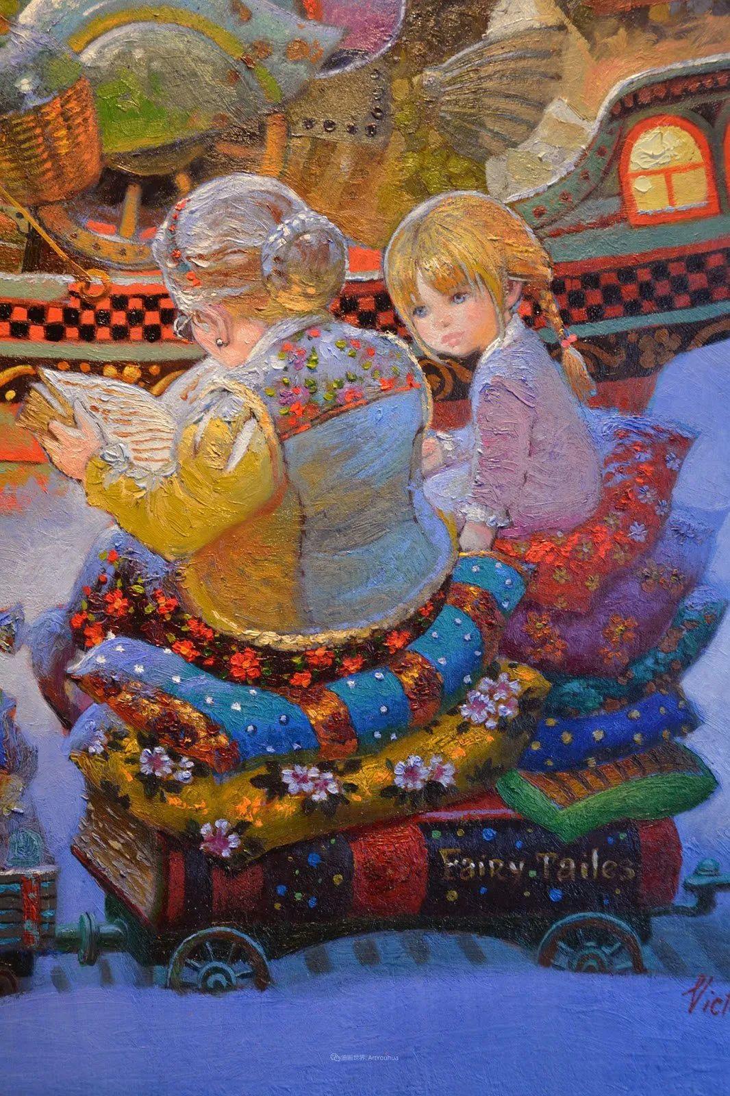 俄罗斯油画家的童话世界:愿你永远是个孩子!插图12