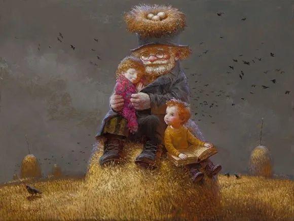 俄罗斯油画家的童话世界:愿你永远是个孩子!插图23