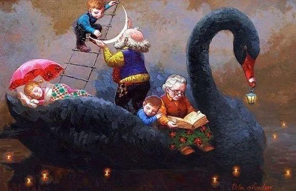 俄罗斯油画家的童话世界:愿你永远是个孩子!插图24