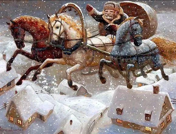 俄罗斯油画家的童话世界:愿你永远是个孩子!插图25
