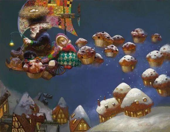 俄罗斯油画家的童话世界:愿你永远是个孩子!插图26