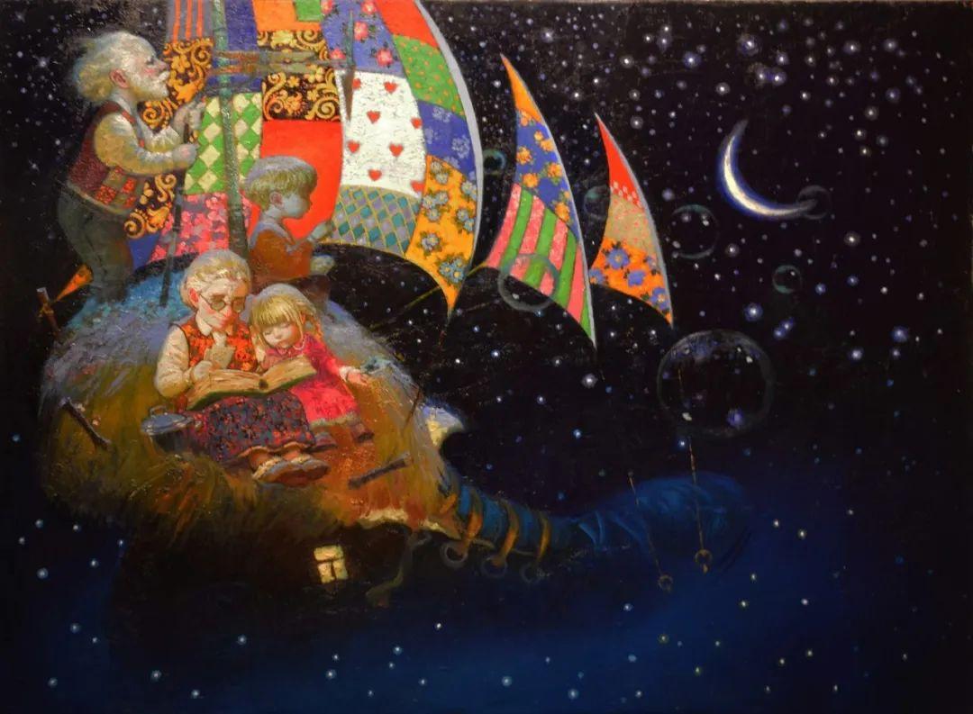 俄罗斯油画家的童话世界:愿你永远是个孩子!插图30