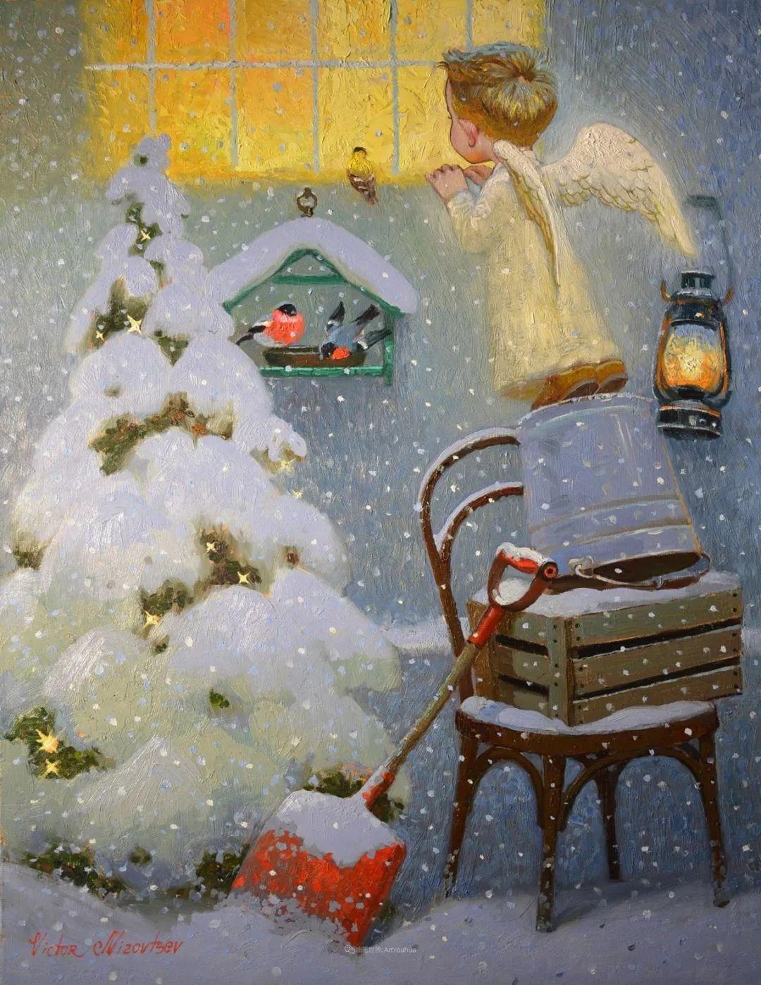 俄罗斯油画家的童话世界:愿你永远是个孩子!插图32