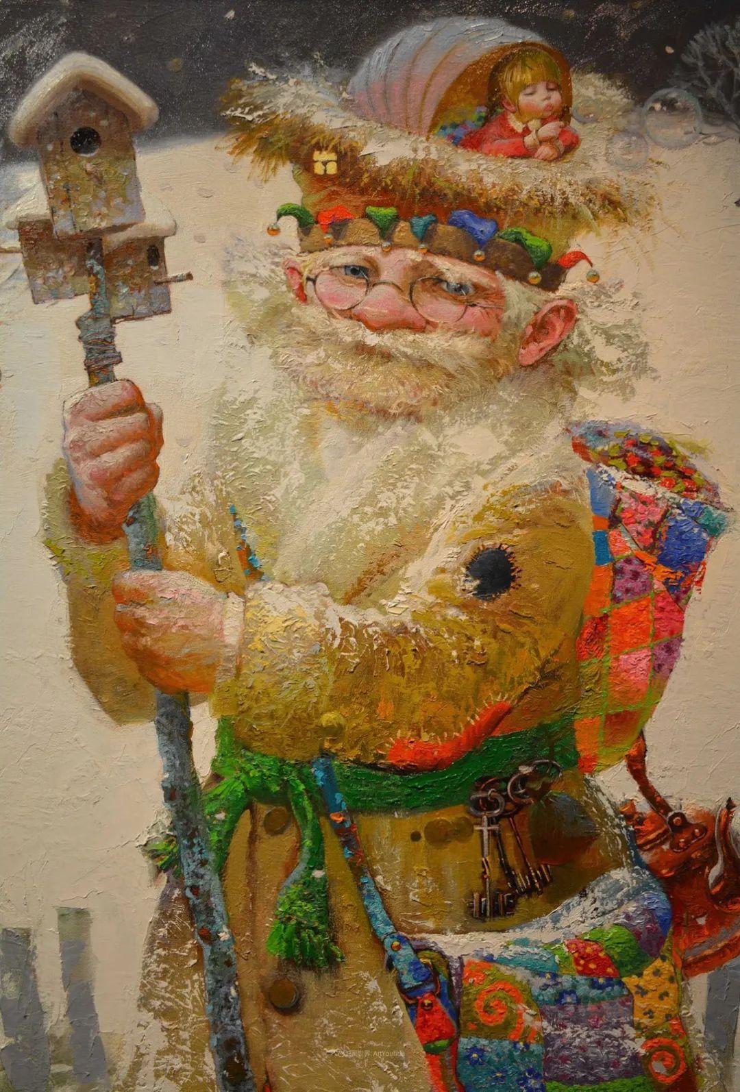俄罗斯油画家的童话世界:愿你永远是个孩子!插图33