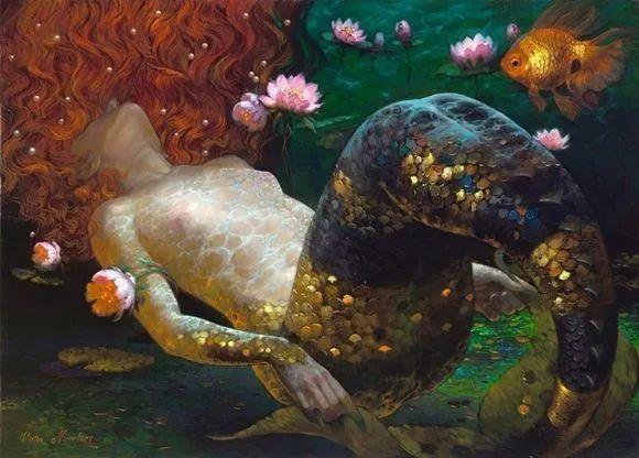 俄罗斯油画家的童话世界:愿你永远是个孩子!插图36