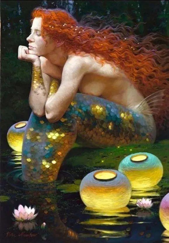 俄罗斯油画家的童话世界:愿你永远是个孩子!插图37