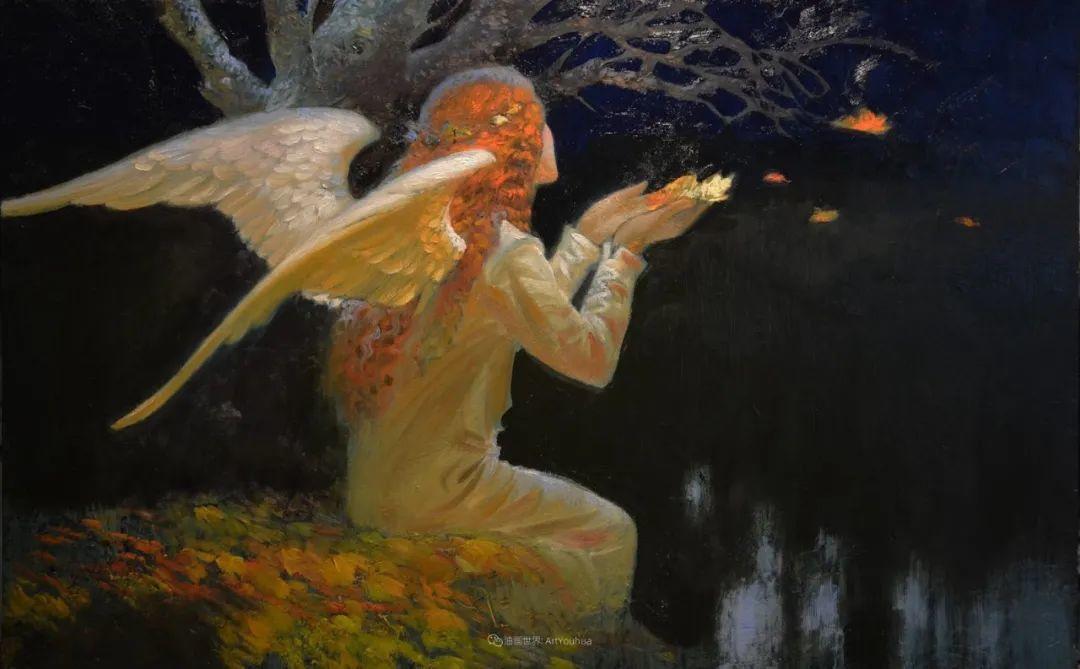 俄罗斯油画家的童话世界:愿你永远是个孩子!插图43