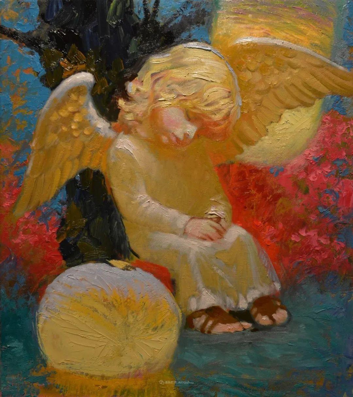 俄罗斯油画家的童话世界:愿你永远是个孩子!插图46