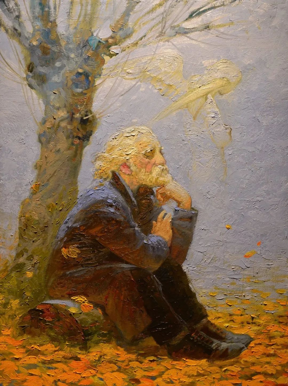俄罗斯油画家的童话世界:愿你永远是个孩子!插图47
