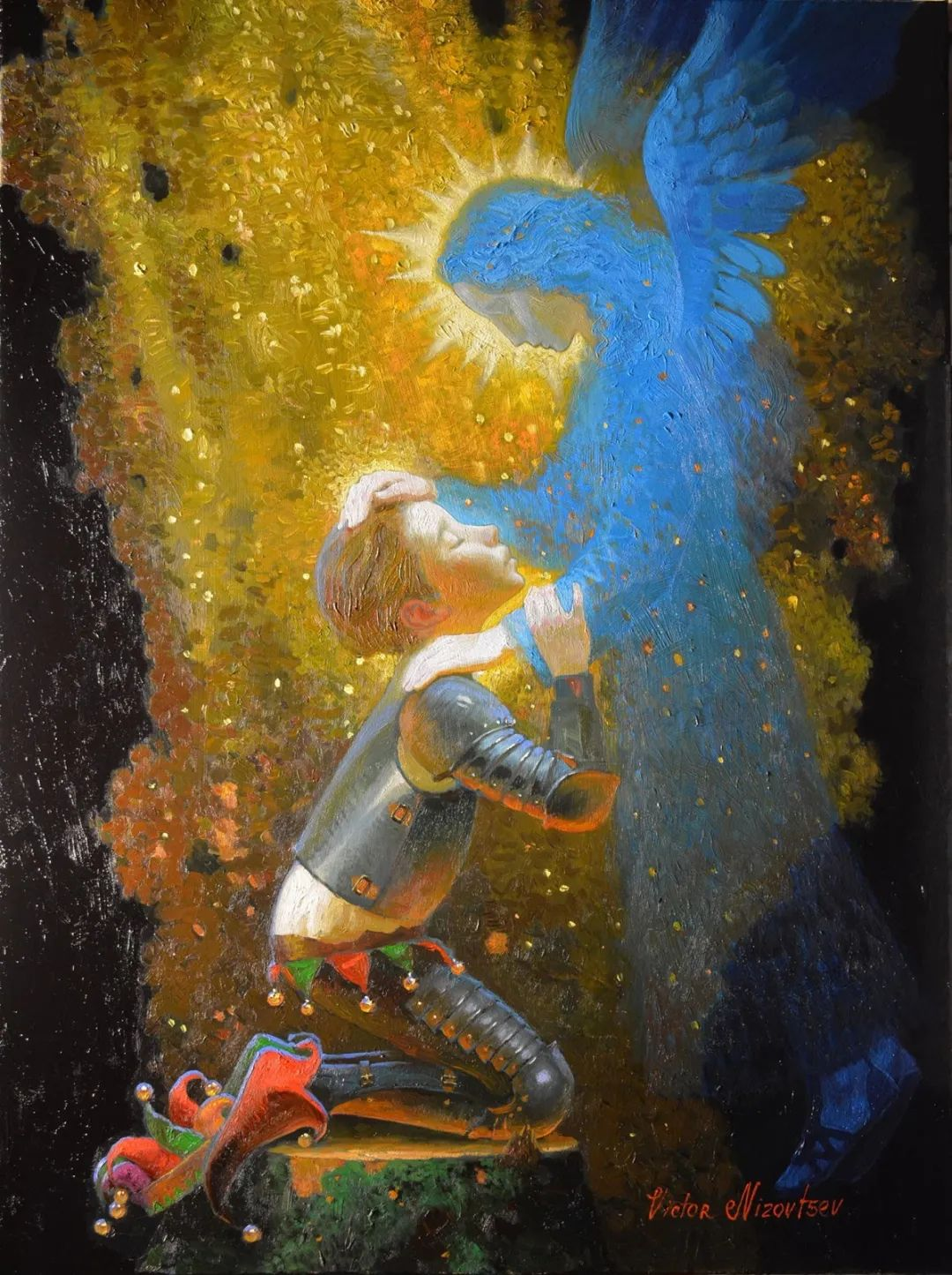 俄罗斯油画家的童话世界:愿你永远是个孩子!插图48