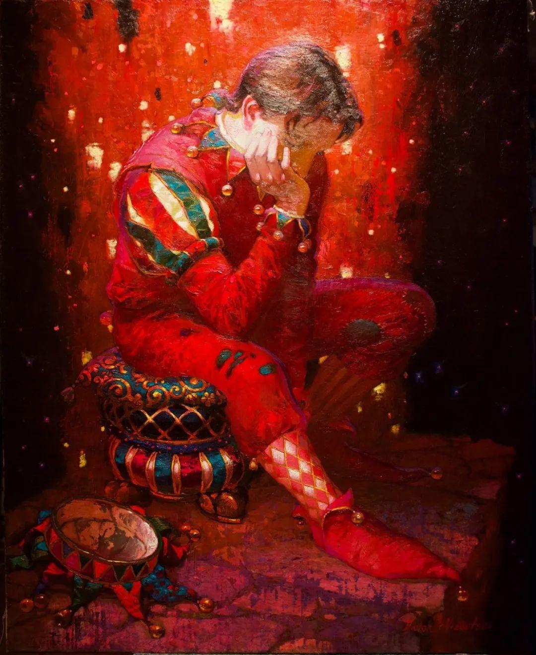 俄罗斯油画家的童话世界:愿你永远是个孩子!插图65