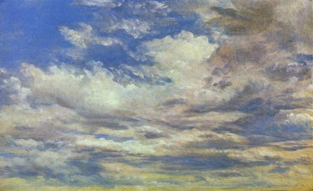瞬息万变的云彩,来自19世纪英国最伟大的风景画家插图