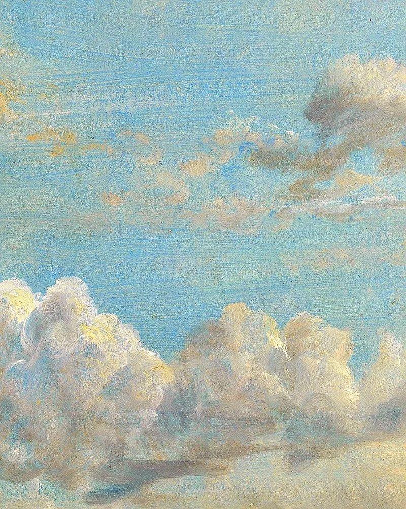 瞬息万变的云彩,来自19世纪英国最伟大的风景画家插图1