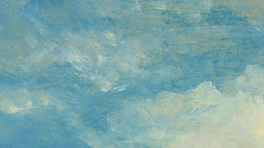 瞬息万变的云彩,来自19世纪英国最伟大的风景画家插图2