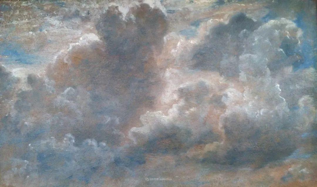 瞬息万变的云彩,来自19世纪英国最伟大的风景画家插图4