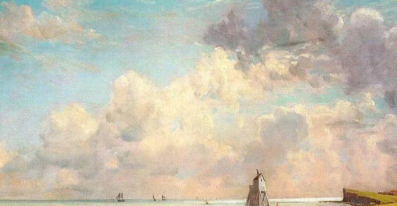 瞬息万变的云彩,来自19世纪英国最伟大的风景画家插图6
