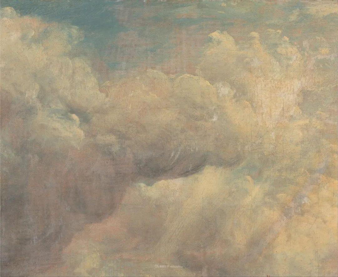 瞬息万变的云彩,来自19世纪英国最伟大的风景画家插图13