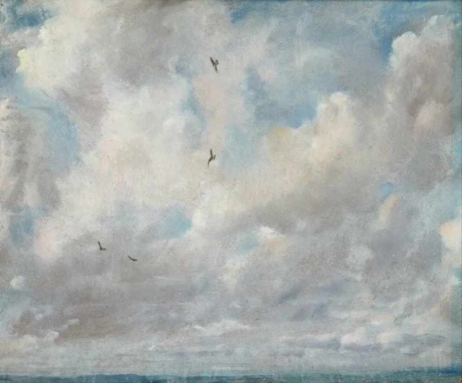 瞬息万变的云彩,来自19世纪英国最伟大的风景画家插图16