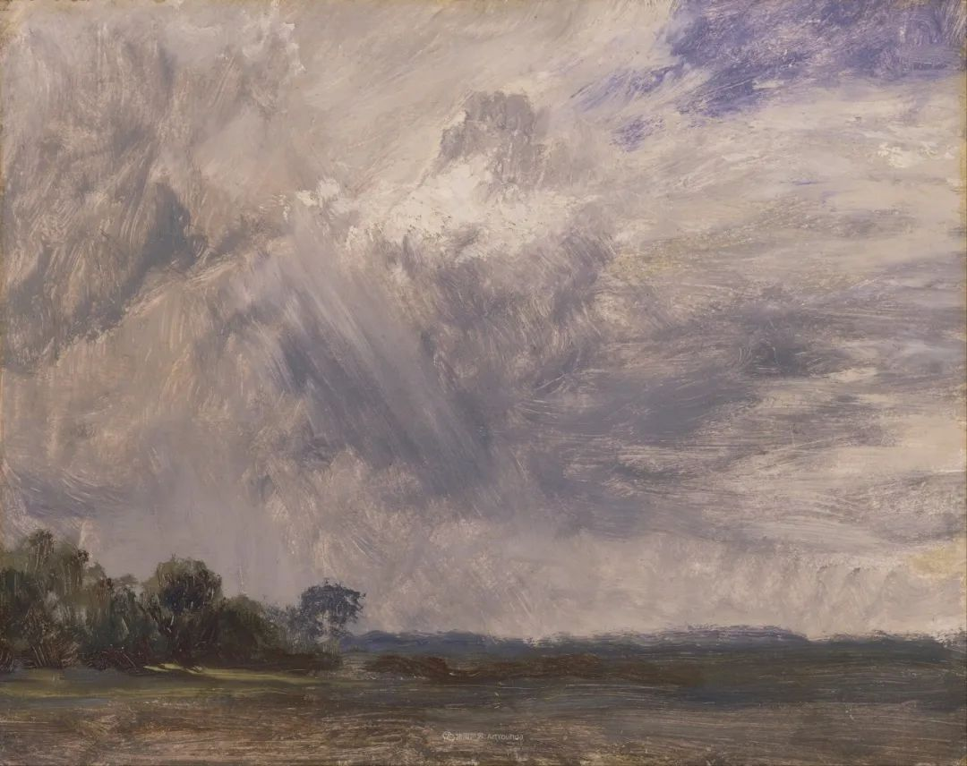 瞬息万变的云彩,来自19世纪英国最伟大的风景画家插图19