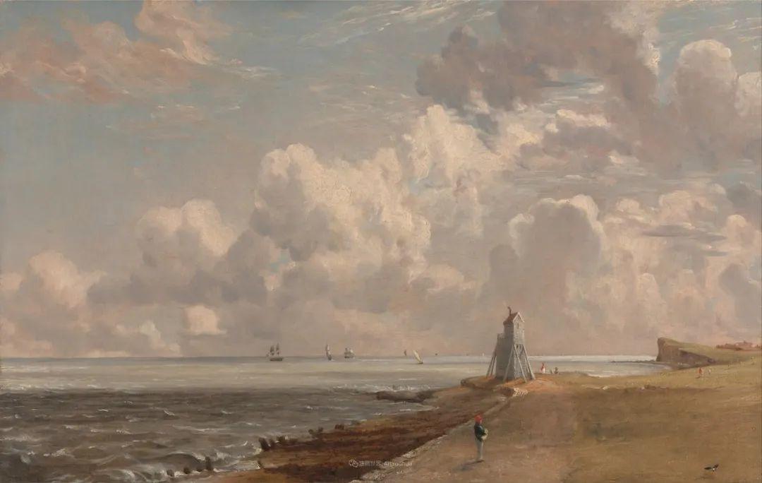 瞬息万变的云彩,来自19世纪英国最伟大的风景画家插图20