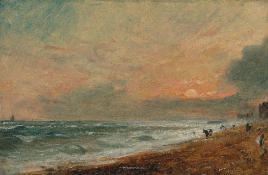 瞬息万变的云彩,来自19世纪英国最伟大的风景画家插图21