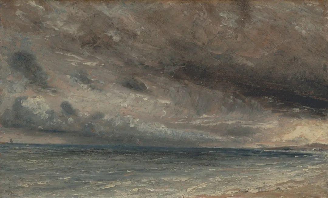 瞬息万变的云彩,来自19世纪英国最伟大的风景画家插图22