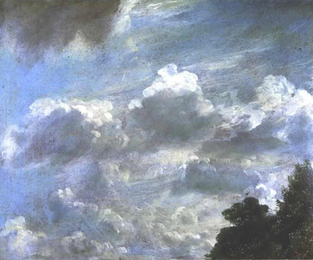 瞬息万变的云彩,来自19世纪英国最伟大的风景画家插图23