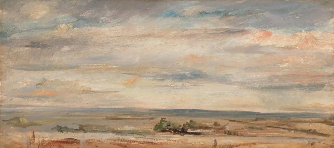 瞬息万变的云彩,来自19世纪英国最伟大的风景画家插图25