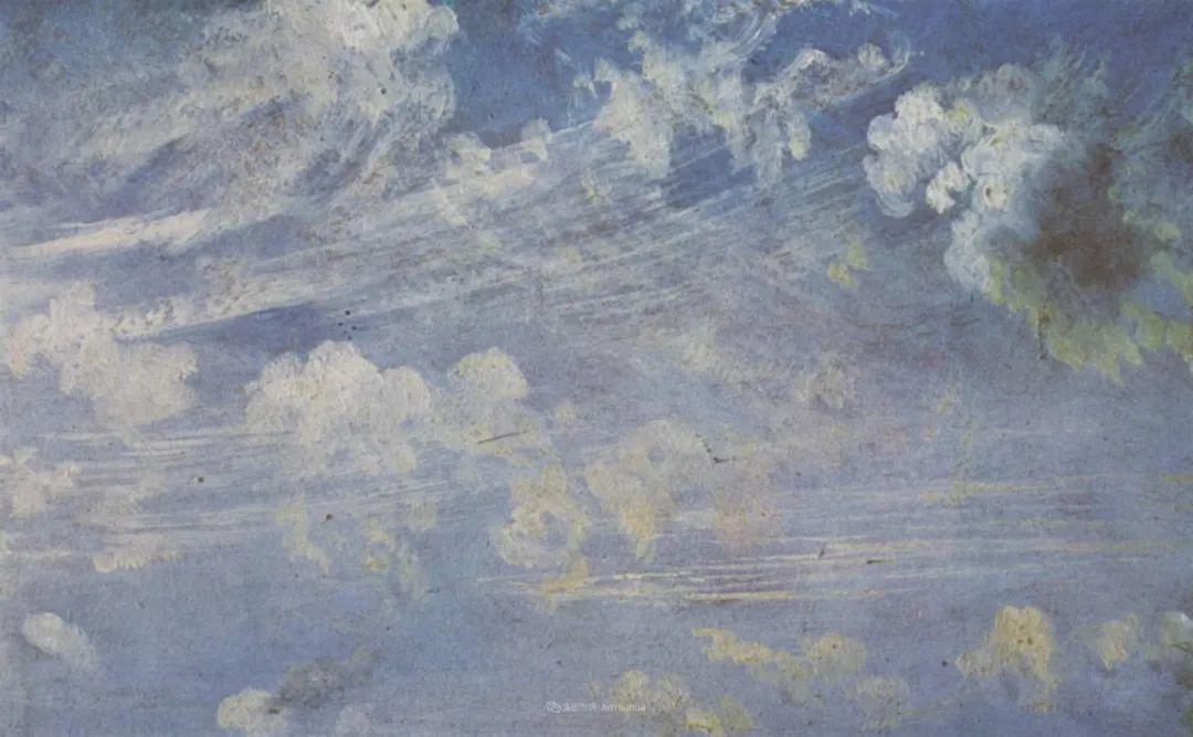 瞬息万变的云彩,来自19世纪英国最伟大的风景画家插图28