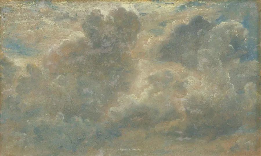 瞬息万变的云彩,来自19世纪英国最伟大的风景画家插图31