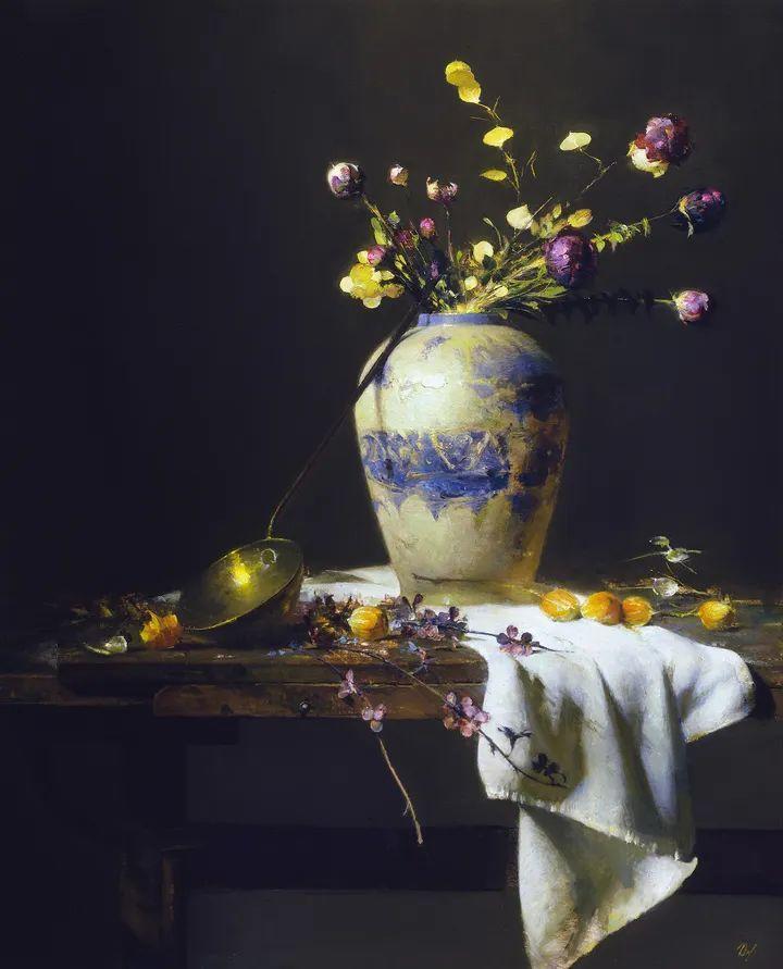 他的古典写实让人神往,美国画家戴维·莱菲尔插图1