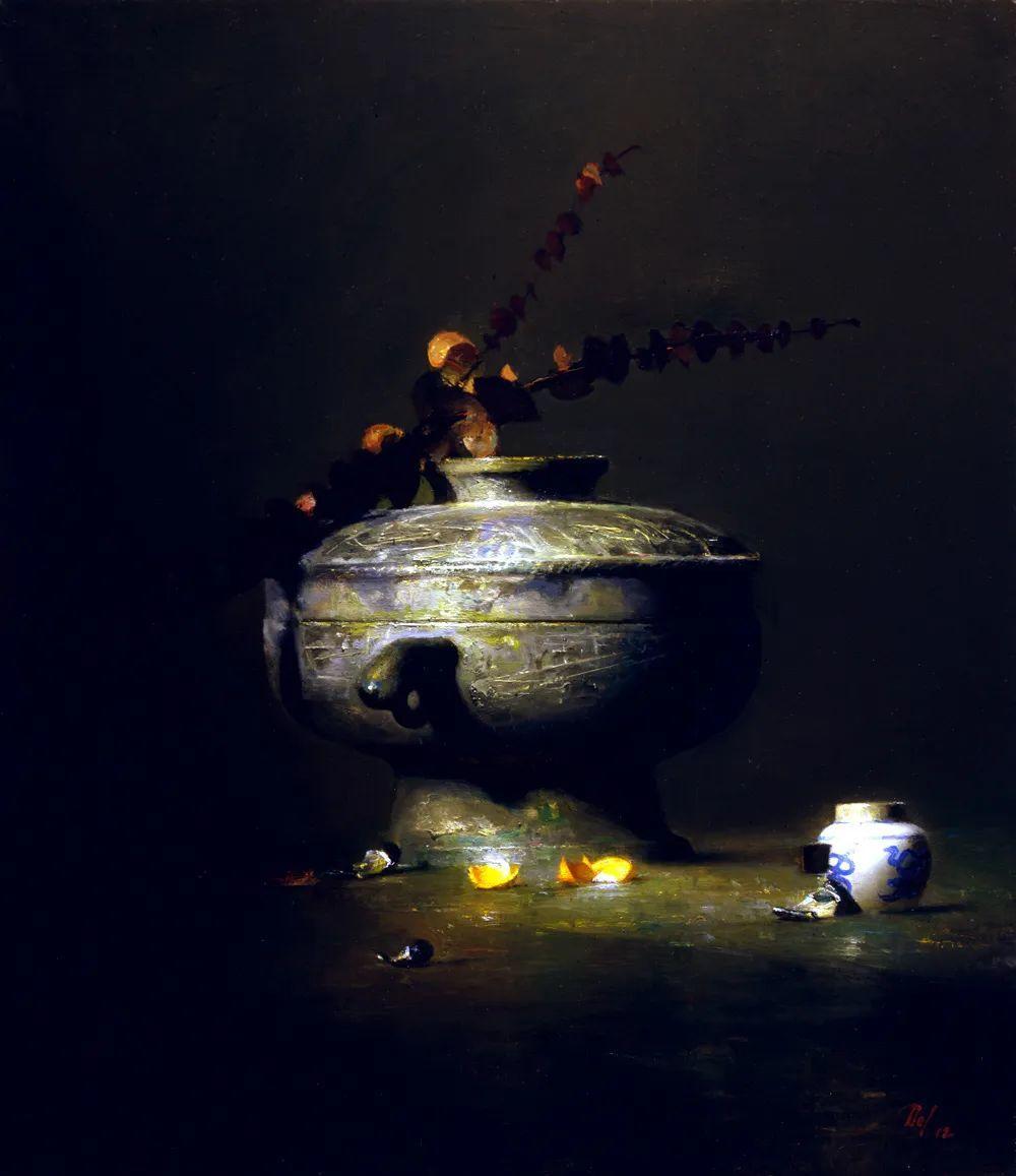 他的古典写实让人神往,美国画家戴维·莱菲尔插图3
