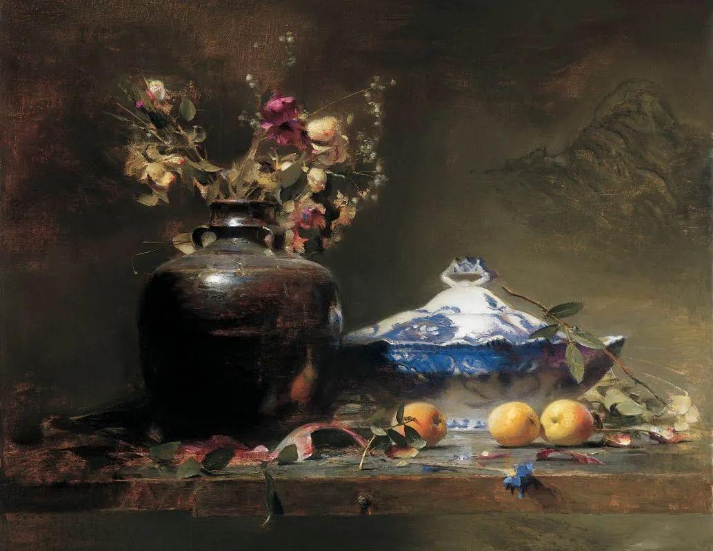 他的古典写实让人神往,美国画家戴维·莱菲尔插图5