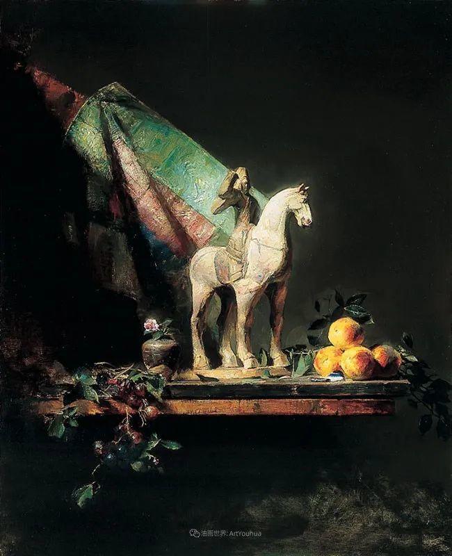他的古典写实让人神往,美国画家戴维·莱菲尔插图9