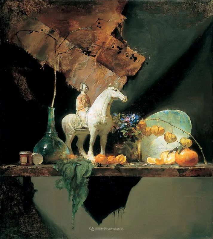 他的古典写实让人神往,美国画家戴维·莱菲尔插图11